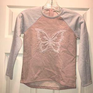 (5/$25) LC Waikiki Sparkle 🦋 Sweatshirt